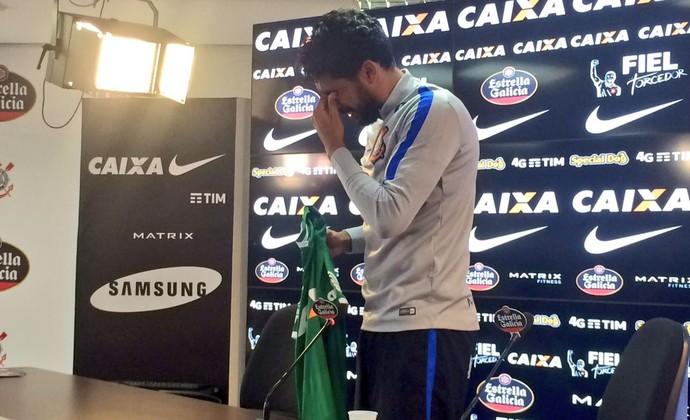 Vilson Corinthians Chapecoense (Foto: Diego Ribeiro)