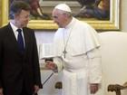 Papa Francisco apoia negociações de paz com as Farc na Colômbia