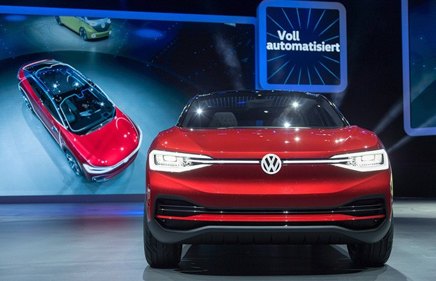 Volkswagen I.D-Crozz no Salão de Frankfurt (Foto: Divulgação)