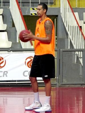 basquete nbb marquinhos flamengo treino (Foto: Danielle Rocha / Globoesporte.com)