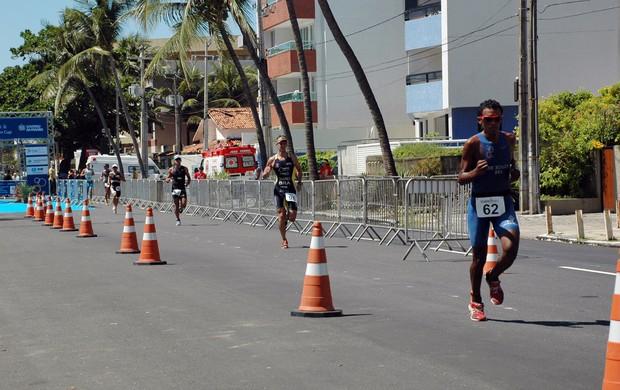 Triatlo, Campeonato Brasileiro de Triatlo, Corrida (Foto: Richardson Gray / Globoesporte.com/pb)