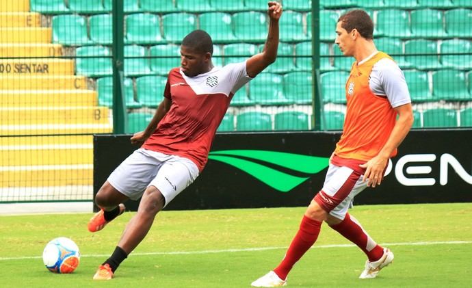 Lúcio Maranhão Wesley Figueirense (Foto: Luiz Henrique/Figueirense FC)