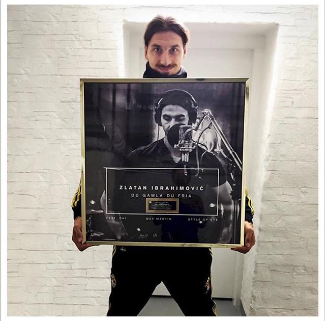 Disco de Ouro Ibrahimovic