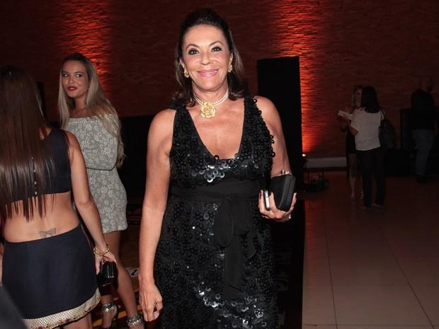 Beth Szafir em festa em São Paulo (Foto: Celso Tavares/ EGO)