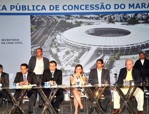 Licitação do Maracanã (Foto: Nelson Veiga / Globoesporte.com)