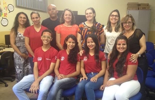 Professores dizem que rede pública também pode ter ensino de qualidade, em Goiás (Foto: Fernanda Borges/G1)