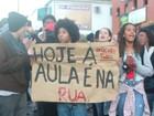 Manifestação de estudantes na Zona Norte do Rio termina em confusão