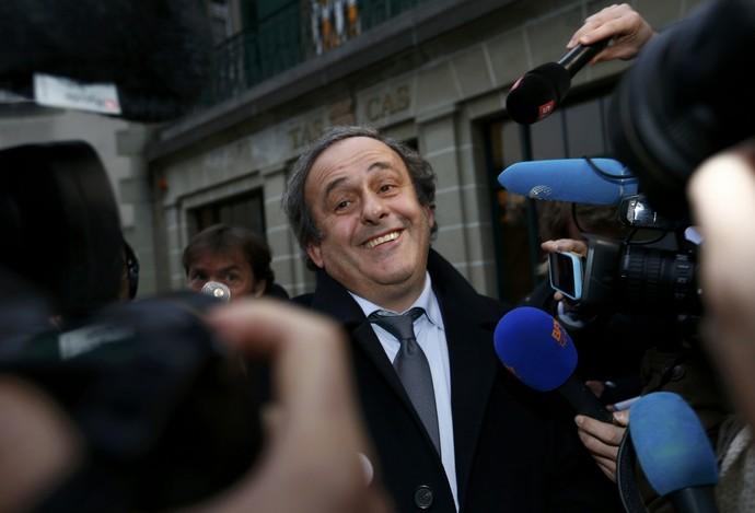 Michel Platini TAS Lausanne (Foto: Reuters)