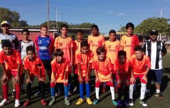 Crianças de 8 a 16 anos disputam 1ª Copa Integração de Soccer Society
