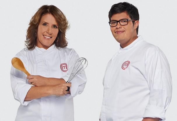 Lucas e Carla - Masterchef 2015 (Foto: Divulgação)