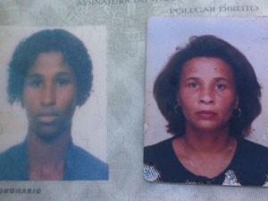 Mãe e filha foram mortas durante tiroteio em Costa Barros (Foto: Mariucha Machado / G1)