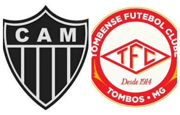 Atlético-MG x Tombense (Foto: montagem/GE)