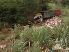 Grupo assalta fazenda em Unaí e capota caminhão durante a fuga