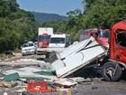 Acidente entre quatro veículos deixa um morto e três feridos no RS
