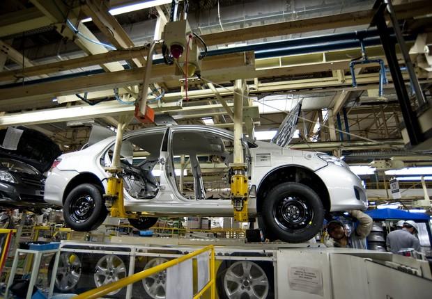 Produção de veículos ; produção de carros ; automóveis ; montadoras ; vendas de carros ;  (Foto: Getty Images/Arquivo)