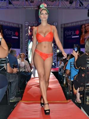 a2884b26b Cores fortes são uma das tendências para lingeries apresentada na Felinju