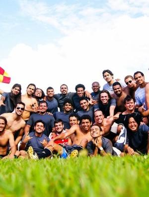 Uberlândia Rugby, equipe de rugbi da UFU (Foto: Arquivo Pessoal/Uberlândia Rugby)