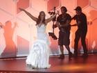 Ivete Sangalo grava DVD em Trancoso com famosos na plateia