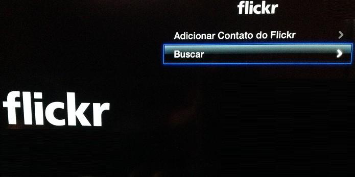 Acesse suas fotos do Flickr diretamente na Apple TV (Foto: Divulgação/ Apple)