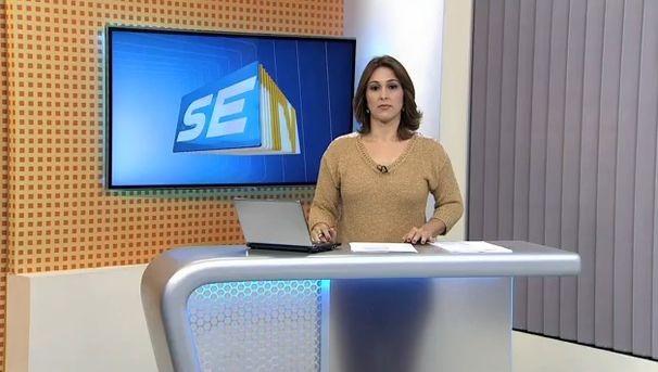 Susane Vidal, apresentadora do SETV 1ª Edição (Foto: Divulgação / TV Sergipe)