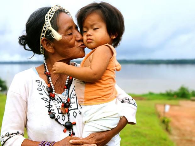 Esta foto foi tirada no rio Amazonas, no Peru (Foto: Ignacio Lehmann/BBC)