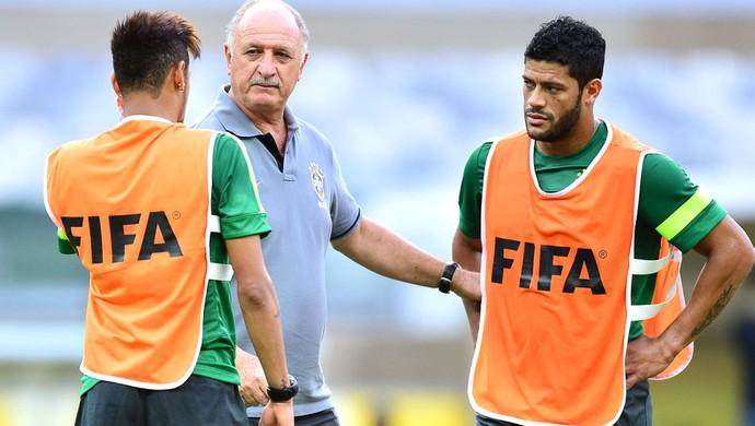 Hulk treino Brasil BH (Foto: Marcos Ribolli)