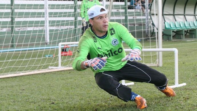 Harlei - goleiro Goiás (Foto: Rosiron Rodrigues / Goiás E.C.)