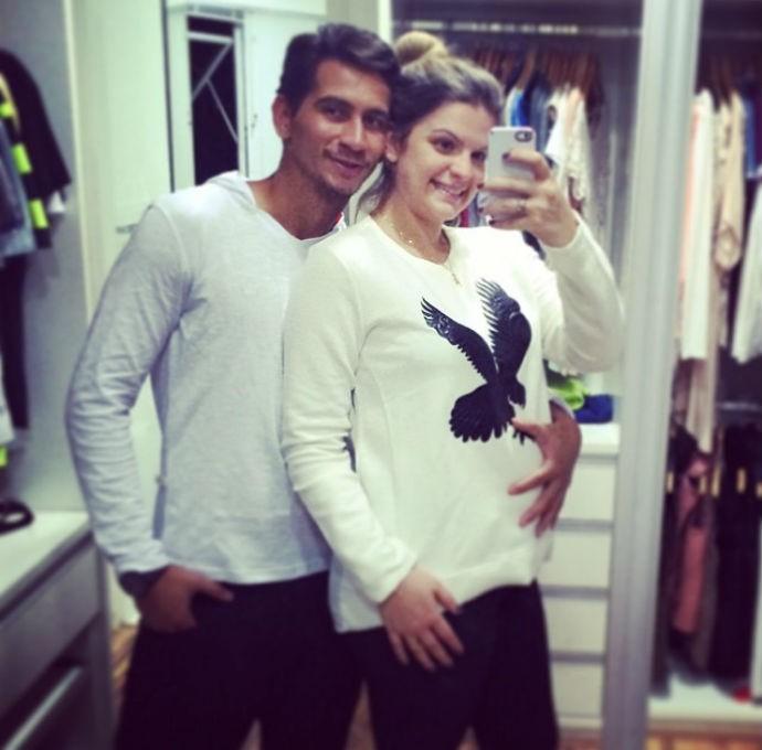 Paulo Henrique Ganso e a mulher Giovanna Costi (Foto: Reprodução/Instagram)