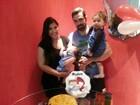 Priscila Pires passa mal após festinha do filho e está internada em hospital