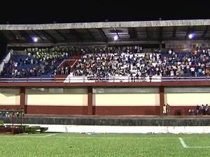 Em 2013, evento foi realizado no estádio Colosso do Tapajós.  (Foto: Arquivo/TV Tapajós)