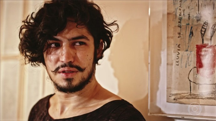 Miguel se entende com Carlos Eduardo (Foto: TV Globo)