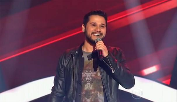 The Voice Brasil - Vinícius Zanin (Foto: Reprodução/TV Globo)