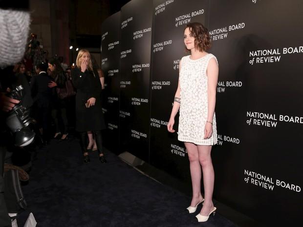 Kristen Stewart em evento em Nova York, nos Estados Unidos (Foto: Andrew Kelly/ Reuters)