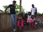 Família colombiana assaltada em RR pede ajuda para chegar a Oiapoque