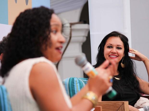 Clarissa Macedo e Rita Santana (Foto: Egi Santana/Flica)