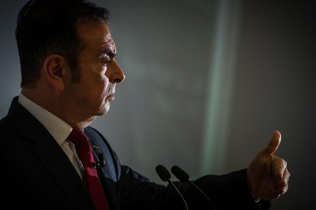 Carlos Ghosn, CEO da Renault-Nissan (Foto: Divulgação)