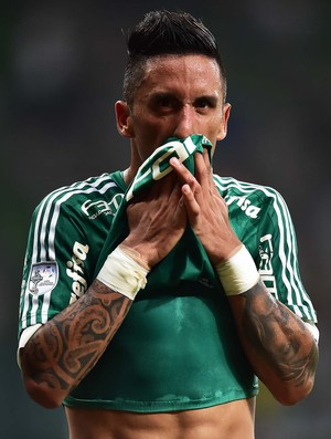 Palmeiras x River Plate-URU Barrios (Foto: Marcos Ribolli)