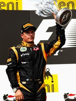 Kimi Raikkonen chegou em segundo lugar no GP da Hungria (Foto: Getty Images)