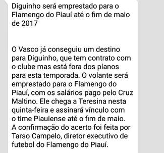 Flamengo-PI (Foto: Reprodução)