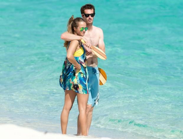 tênis andy murray kim sears férias bahamas (Foto: Splash News)