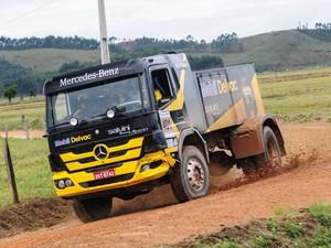 Caminhão Flávio Bisi Rali (Foto: Márcio Machado/DFOTOS)