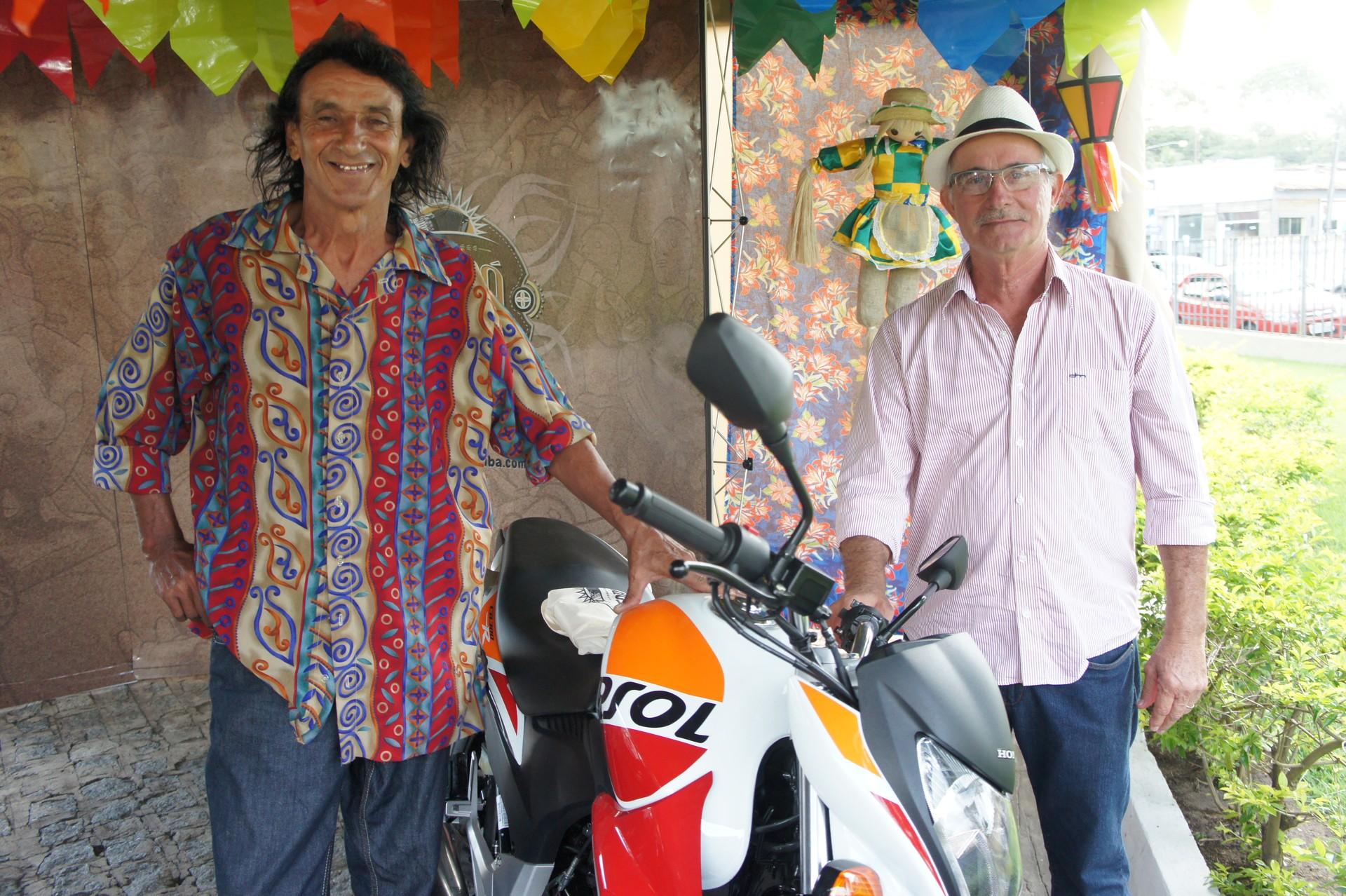 Jairo Madruga e Fábio smith foram os grandes vencedores desta edição (Foto: Daniel Sousa/TV Cabo Branco)