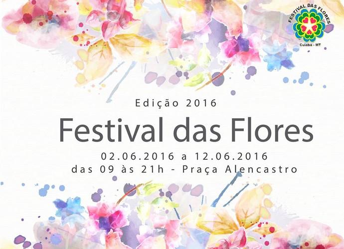 13º Festival das Flores em Cuiabá (Foto: Divulgação)