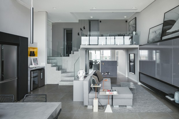 Mezanino otimiza espa o em apartamento de 80 m casa for Fachadas para apartamentos pequenos