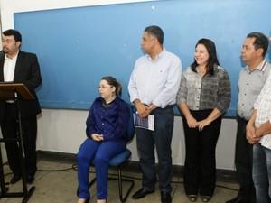 Inauguração da Central de Intérpretes de Libras em Uberlândia (Foto: Daniel Nunes/ Secom/ PMU)