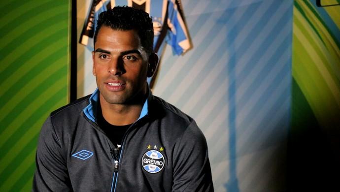 Maicon Grêmio (Foto: Eduardo Deconto/GloboEsporte.com)