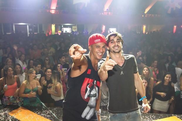 Leandro Sapucahy e Fiuk (Foto: Divulgação)