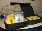 Trio que levava 29 kg de cocaína em mala é preso pela Polícia Federal no PI