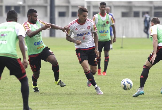 Guerrero, treino do Flamengo, 01/10 (Foto: Gilvan de Souza / Flamengo)