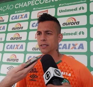 Danilo Chapecoense (Foto: Laion Espíndula)
